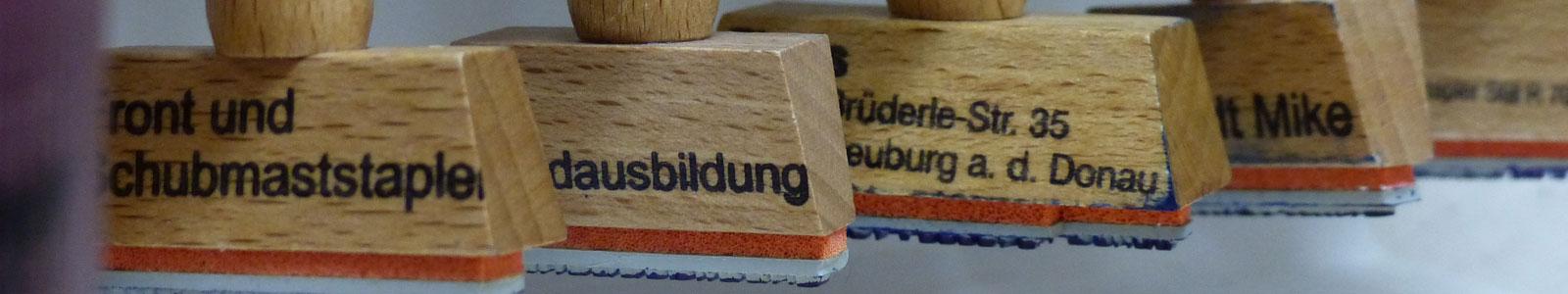 Fahrausweis Gabelstapler